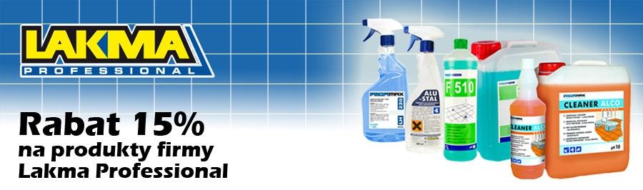 15% rabatu na produkty firmy Lakma Professional