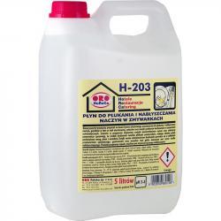 ORO H-203 płyn do płukania i nabłyszczania naczyń w zmywarkach 5L