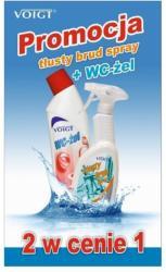Voigt zestaw spray Tłusty Brud 500ml + WC-żel 750ml