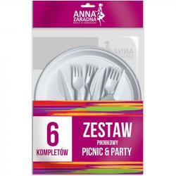 Anna Zaradna zestaw piknikowy dla 6 osób