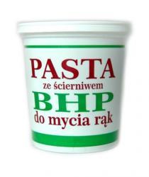 BHP pasta do mycia rąk ze ścierniwem 500g Barlon