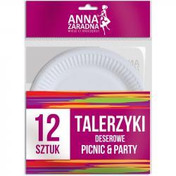 Anna Zaradna talerzyki deserowe 12szt