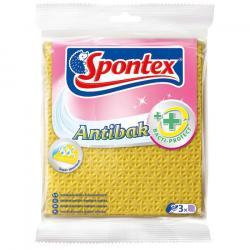 Spontex Antibak ściereczki antybakteryjne 3szt