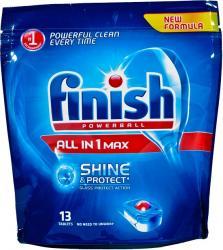 Finish All in 1 MAX tabletki do zmywarek 13 sztuk