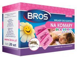 Bros Elektro dla dzieci wkłady do urządzenia na komary 20 sztuk