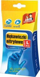 Jan Niezbędny cienkie rękawiczki nitrylowe L 10 sztuk