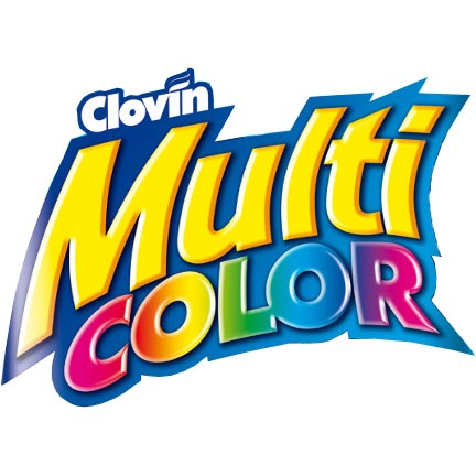 Clovin Multicolor proszek do prania tkanin 10kg folia