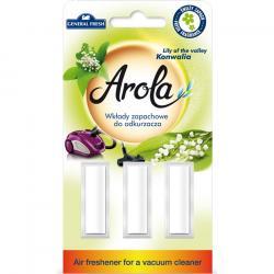 General Fresh wkłady zapachowe do odkurzacza KONWALIA