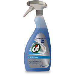 Cif Professional płyn do okien, szyb, luster 750ml