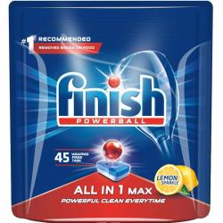 Finish All In 1 tabletki do zmywarek 45 sztuk Lemon