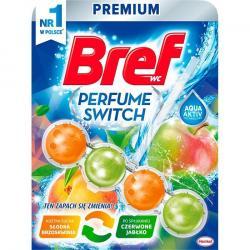 Bref kulki – kostka do toalet Perfume Switch Brzoskwinia/Jabłko 50g
