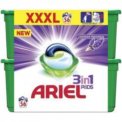 Ariel kapsułki 3w1 Duo 2x28szt. Lavender