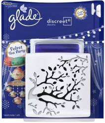 Glade by Brise Discreet Electric Velvet Tea Party elektryczny odświeżacz powietrza