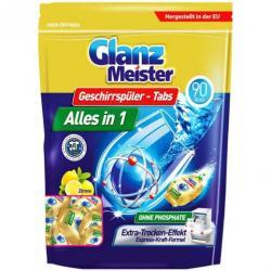 GlanzMeister kapsułki do zmywarek 90szt.