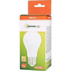 Spectrum LED żarówka E27 4W ciepła biała