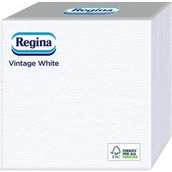 Regina serwetki 33x33cm 60szt. Vintage Białe