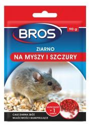 Bros ziarno na myszy i szczury 90g