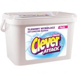 Clever Attack wybielacz w proszku tlenowy 3,6kg