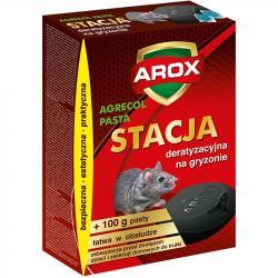 Arox stacja deratyzacyjna na gryzonie + pasta