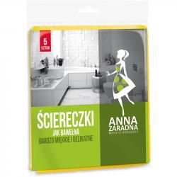 Anna Zaradna ściereczki jak bawełna 5szt