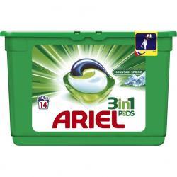 Ariel kapsułki 3w1 14 sztuk do białego Mountain Spring