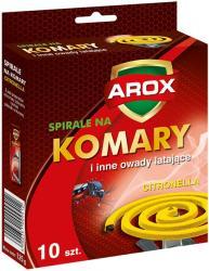 Arox spirale owadobójcze citronella 10szt