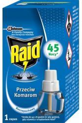 Raid electric na komary środek do urządzenia 45 nocy