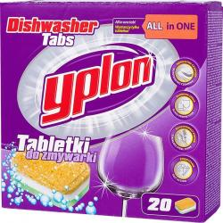 Yplon tabletki do zmywarki All In One 20szt.