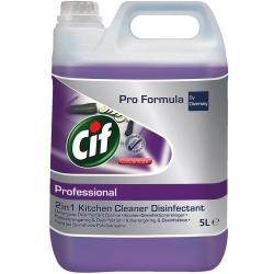 Cif Professional 2w1 Cleaner Disinfectant 5L do dezynfekcji