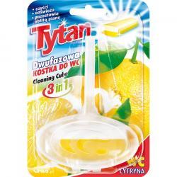 Tytan kostka toaletowa 40g cytryna