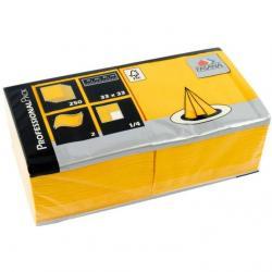 Fasana Professional serwetki żółte 2-warstwowe 250szt 98430