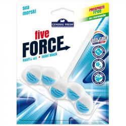 General Fresh Five Force kostka toaletowa morska