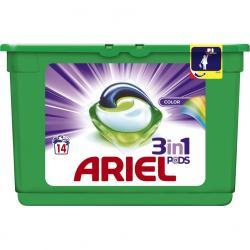 Ariel kapsułki 3w1 14 sztuk do kolorowych