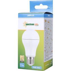 Spectrum LED żarówka E27 17W Zimna biała