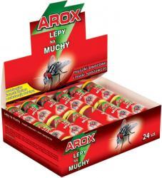 Arox zestaw lepów na muchy 24szt