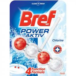 Bref kulki kostki do toalet Power Aktiv Chlorine z wybielaczem