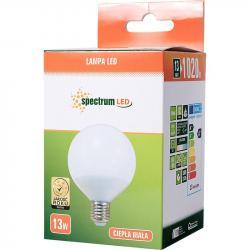 Spectrum LED żarówka E27 13W Ciepła biała