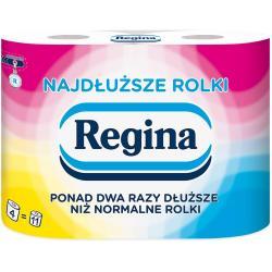 Regina papier toaletowy dwuwarstwowy Najdłuższe Rolki 4szt.