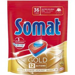 Somat Gold tabletki do zmywarek 36 szt.