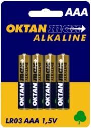 Oktan baterie alkaliczne AAA LR03 1,5V 4szt.