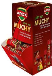 Arox zestaw lepów na muchy 100szt