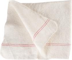 Ścierka do podłogi biała 70 x 130cm bawełniana