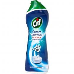 Cif Cream mleczko do czyszczenia 250ml z wybielaczem