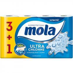 Mola 3+1 gratis ręczniki papierowe Ultra chłonne