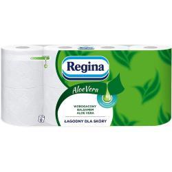 Regina papier toaletowy trzywarstwowy Aloe Vera 8szt.
