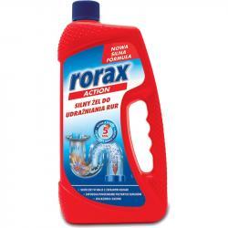 Rorax silny żel do udrażniania rur 1L