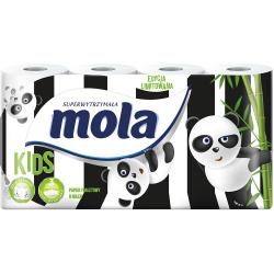 Mola Kids papier toaletowy dla dzieci 8 rolek