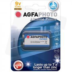Agfa bateria alkaliczna 9V 6LR61 kostka