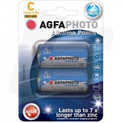 Agfa baterie alkaliczne C LR14 1,5V 2 sztuki