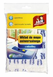 Jan Niezbędny mop płaski mikrofibra wymienna końcówka biała